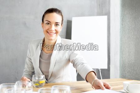 interview recruitment woman during a job
