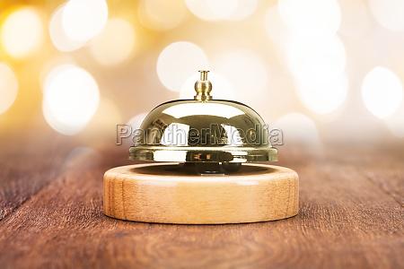 nahaufnahme von service bell