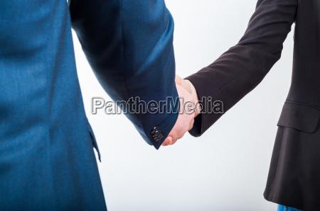 business handshake wenn ein gutes profitables