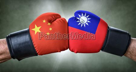 boxkampf china gegen taiwan