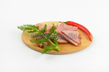 ham with chili pepper