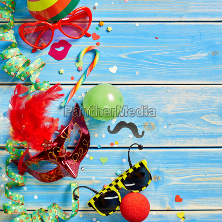 square shaped carnival theme background