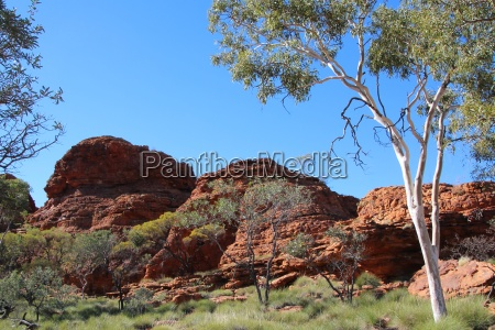 rock formation at the kings canyon