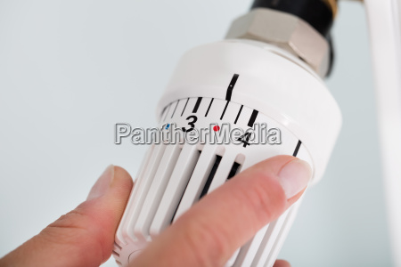 person einstellen thermostat heizkoerperventil