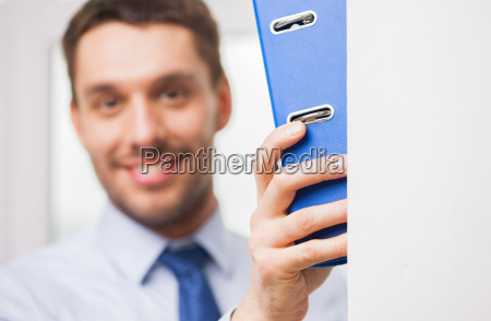 close up of businessman with ring