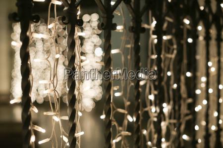 advent vorweihnachtszeit lampen angestrahlt verziert dekoration