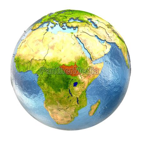 sued sudan in rot auf vollen