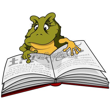 green frog reader