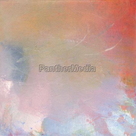 painting abstract canvas pastelltoene