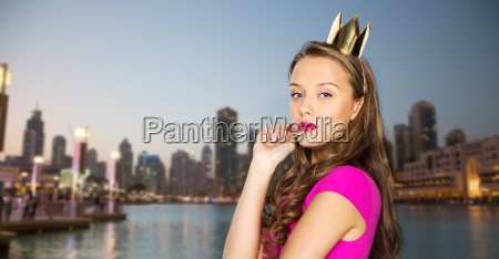 young woman or teen girl in