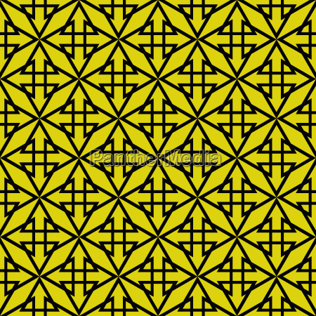 tile vector pattern with yellow green