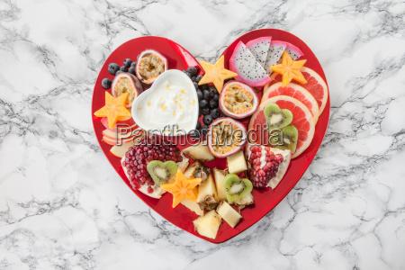 fresh exotic fruits