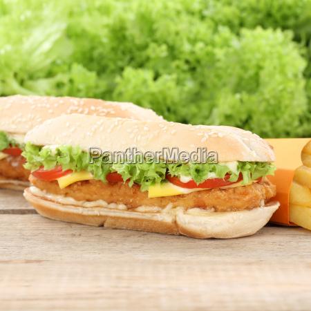 chickenburger chicken chicken burger hamburger and