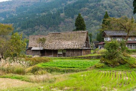 shirakawago old village