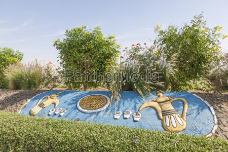 arabian coffeepots in liwa oasis