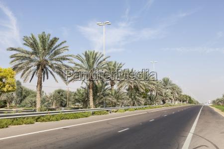 street in the desert town mezairaa