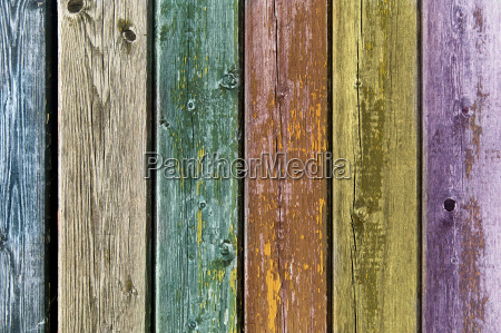 old colored wooden boards background