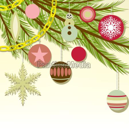 der hintergrund der weihnachtsbaum filialen