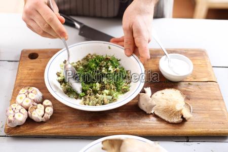 a dish of vegan cuisine vegan