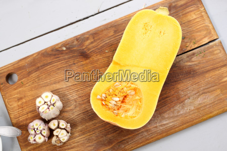 pumpkin in the kitchen dishes with