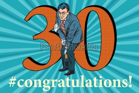 gratulation 30 jubilaeumsveranstaltung