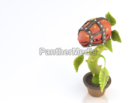 carnivorous plant with muzzle