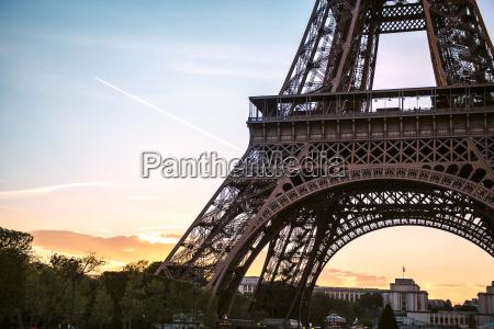 france paris part of eiffel tower