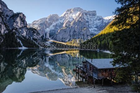 italien suedtirol lago di braies