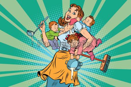 froehlich mutter mit drei kindern