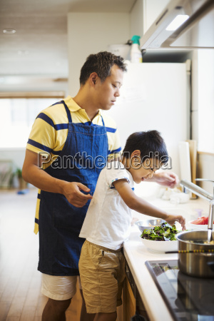family home a man in a