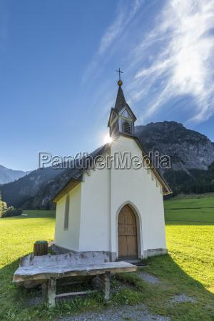 OEsterreich vorarlberg brandner tal markenkapelle