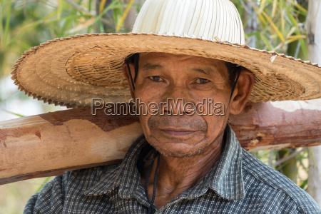 alter asiatischer mann senior