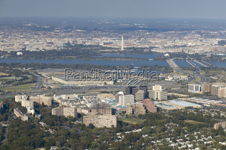 usa aerial photograph above south arlington