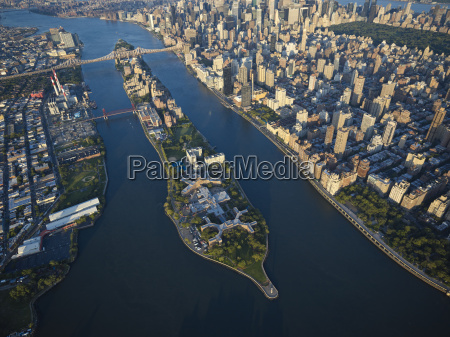 usa new york city aerial photograph