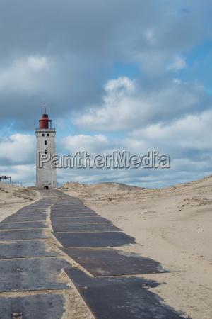 daenemark nordjuetland leuchtturm rubjerg knude