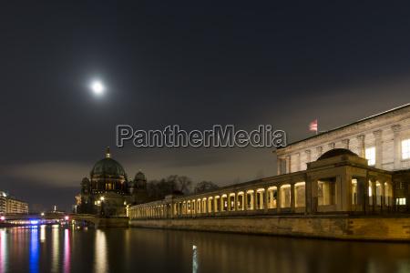 deutschland berlin alte nationalgalerie und berliner