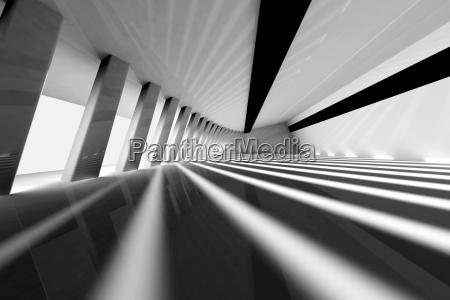 3d uebertrug illustration architektursichtbarmachung eines futuristischen