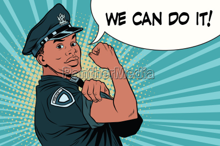 black cop we can do it