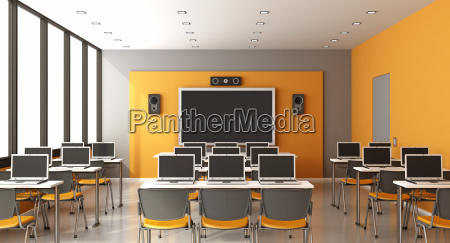 moderne multimediaklassenzimmer