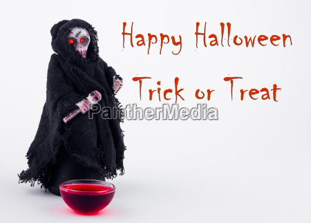 happy halloween trick or treat