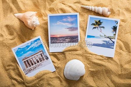 vacation photos on beach