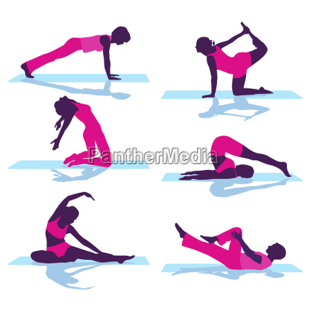 rückengymnastik, und, bodengymnastik - 20313843