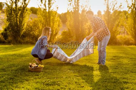 ein schoener tag fuer ein picknick