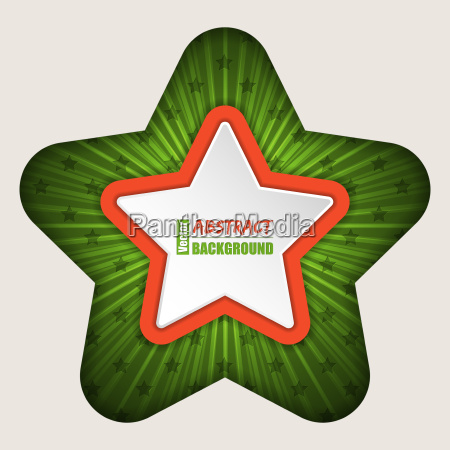 abstract star brochure background
