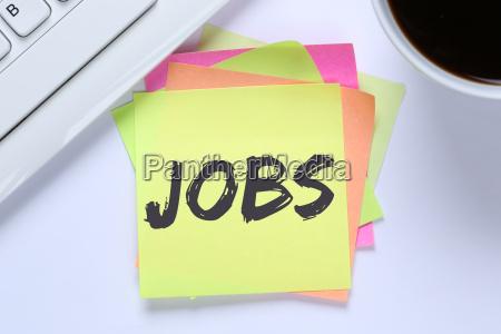 jobs job arbeit arbeitsstelle jobsuche buero