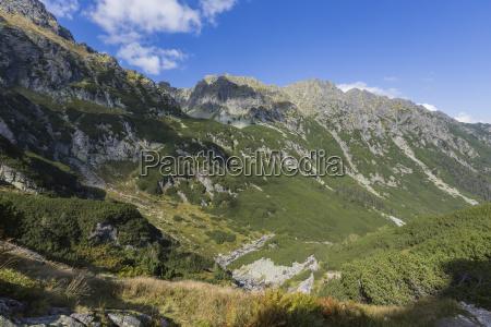 poland tatra national park in