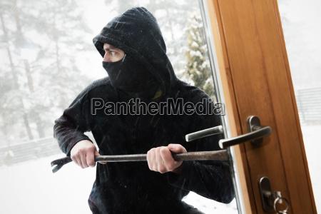 robo en la casa ladron