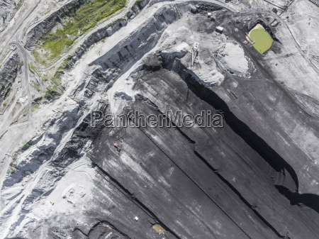 surface coal mining in poland destroyed