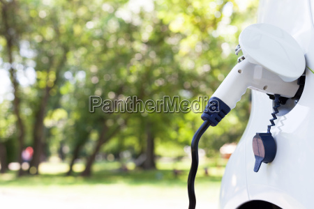 charging battery of an electric car
