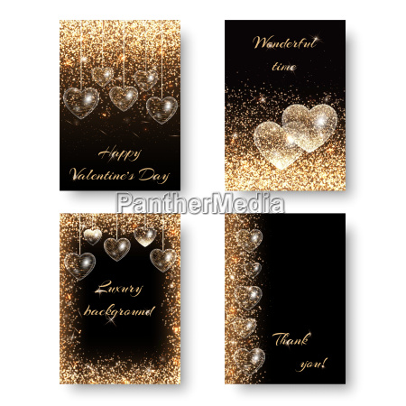 love background with light effect sequins